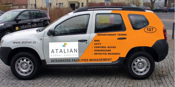 autocolant inscriptionare masini
